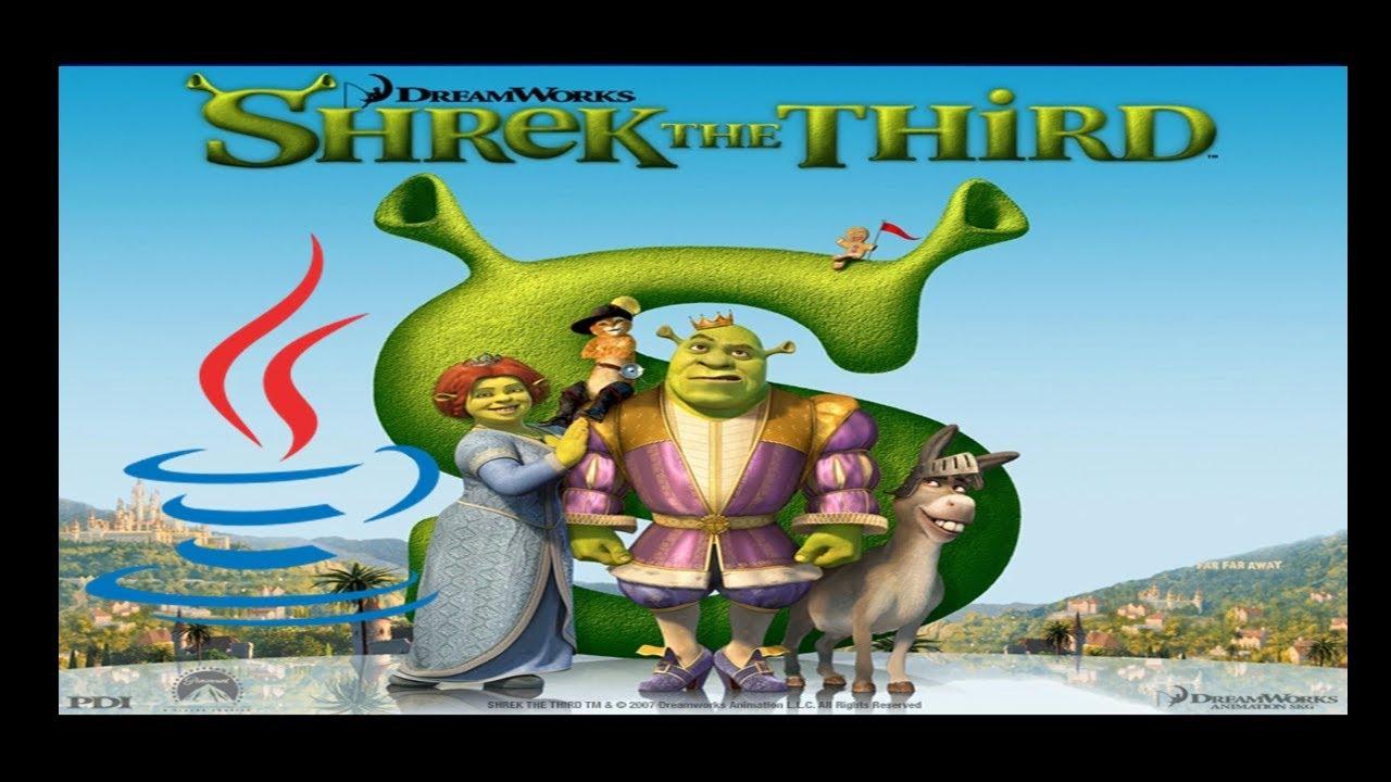 Shrek The Third - Mobile Java Gameplay