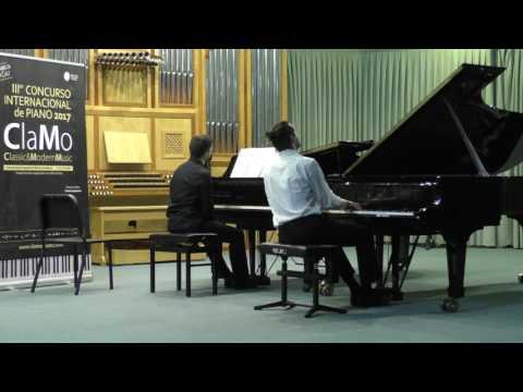 David Malusá - Chopin etude Op. 25 nº 12 & F. Liszt Piano Concerto Nº 1 S.124