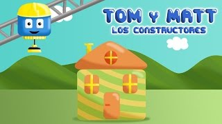 Casa - Tom & Matt los vehículos constructores   Juegos de construcción para niños