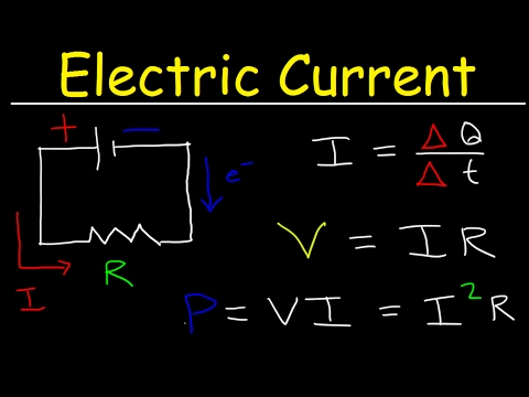 Electric Current & Circuits Explained, Ohm
