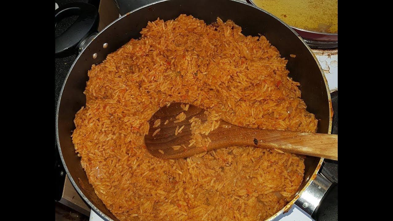 Download Nigerian Jolof Rice Recipe