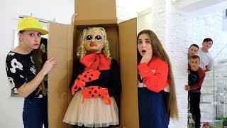 Живая Кукла БЕЛЛА! Кто прислал Посылку?