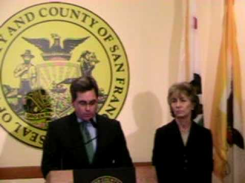 San Francisco City Attorney Herrera - Press Conference - Addressing Proposition 8, 11/20/08 - **Part 1**