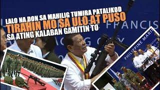 Matinding banta, Ginulat ni Pangulong Duterte ang Marines