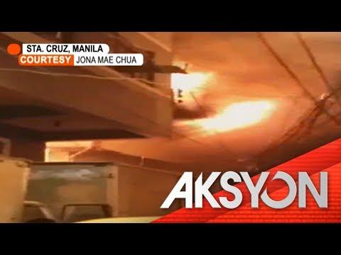Dalawa, patay sa sunog sa Maynila