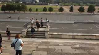 Nazi Parade Ground and the Stink of German Urine
