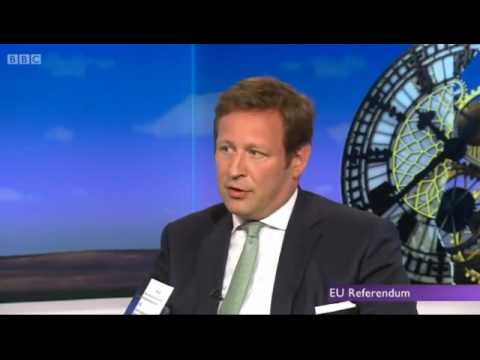 Andrew Neil & Ed Vaizey  -  Just Answer the bloody Question Ed    15062016