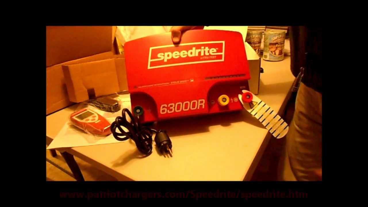 The Worlds Most Powerful Electric Fence Charger The