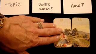 Three Card Lenormand Spread Tutorial (Beginner to Intermediate)