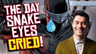 G.I. Joe 'Snake Eyes' Star CRIED Because Training is TOO HARD?!