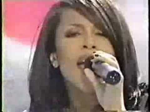 Aaliyah - The One I Gave My Heart To (Live)