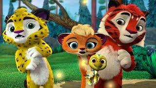Лео и Тиг сборник серий с 16 по 18 Детям про животных Мультфильм HD