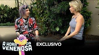 Keila Jimenez entrevista o autor da musica do Fabio Assuncao