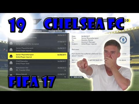CHELSEA CAREER MODE (PART 19) - NEW CENTRE BACK NEEDED, HORRIFIC INJURY!!! (FIFA 17)