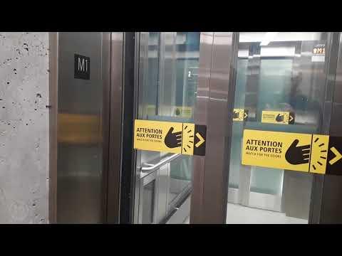 STM Metro - Nouvel ascenseur Honoré-Beaugrand
