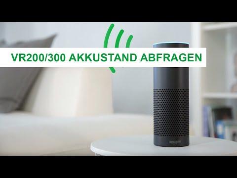 Akkustand abfragen – Amazon Alexa mit Vorwerk Saugroboter: Vorwerk Kobold
