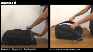 IGNOBLE Lenore Capsule Backpack - Quick Overview