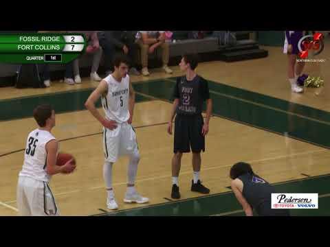 NoCo BASKETBALL: Fossil Ridge HS vs Fort Collins HS - 1/30/18 - Boys