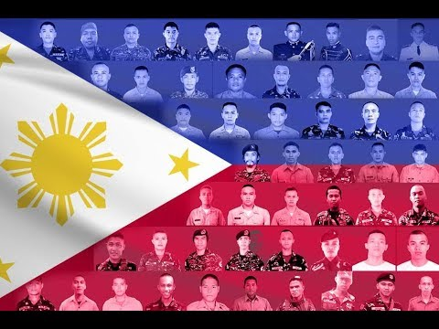 Philippines honors slain troops in Marawi on Independence Day