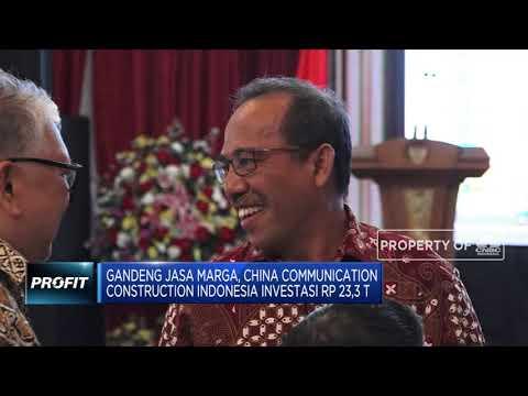 PINA Jembatani Kerja Sama Jasa Marga Dengan China Communication Construction Indonesia