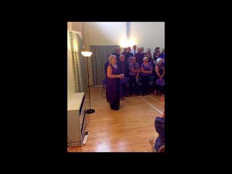 Upbeat Singers At Lavenham 10 August 2016