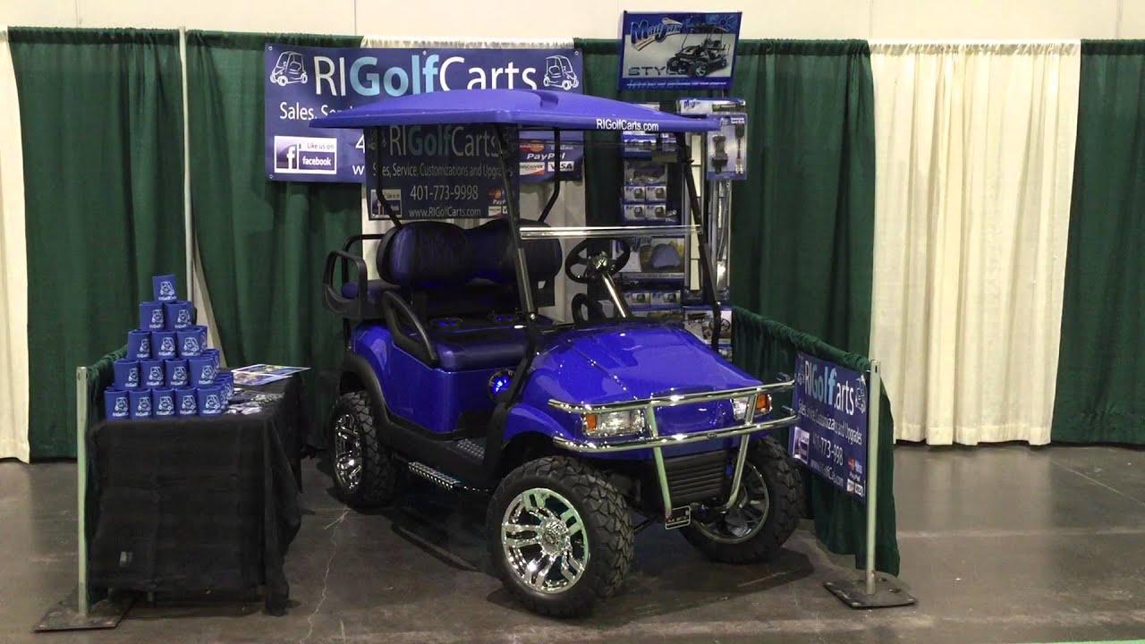 Ri Golf Carts RV Camping Show 2015 Custom Golf Cart