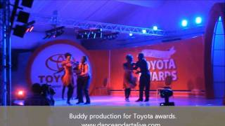 Salsa dance performance Toyota {Buddy Salsa}