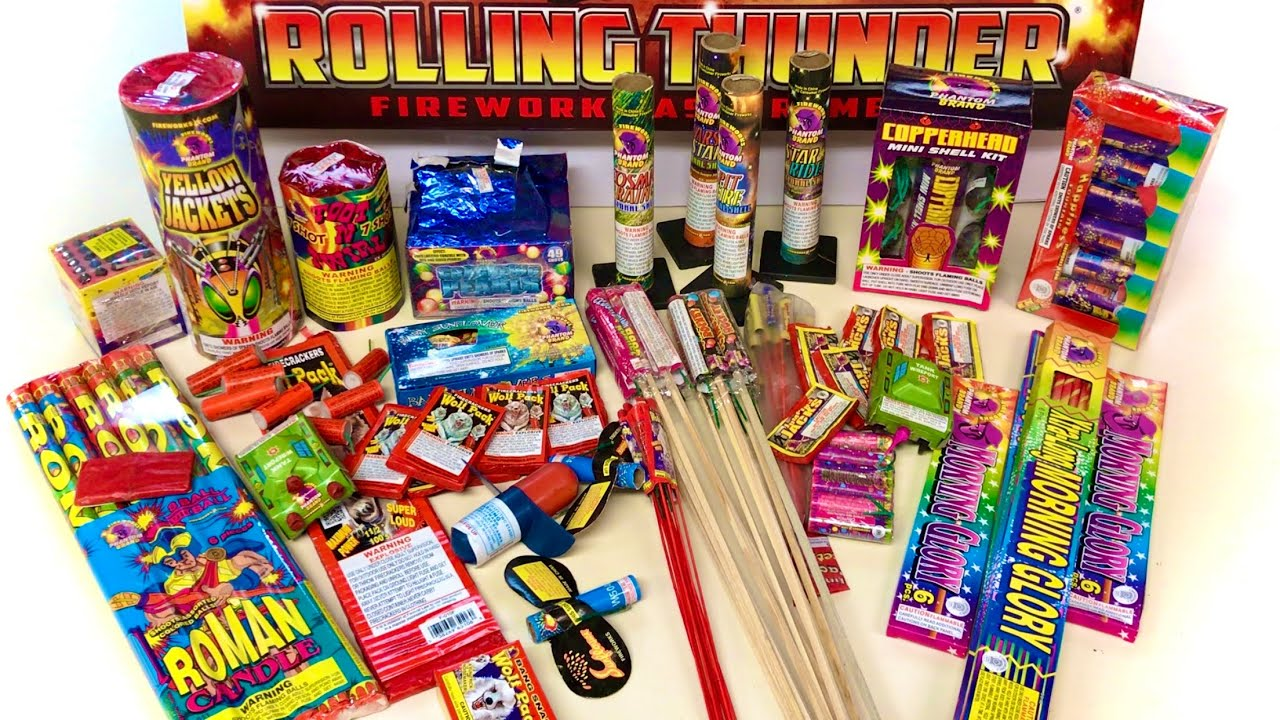 Rolling Thunder Firework Assortment (Is it Worth $60?)