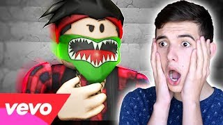 REACTING to ROBLOX MUSIC VIDEOS THE MOVIE