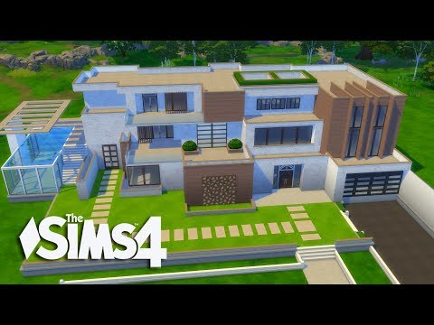 The Sims 4 - Let's Build a Modern Mansion (Part 1) Realtime