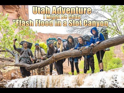 "Utah Adventure (Day 4 Part 1) ""Flash Flood In Coyote Gulch"""