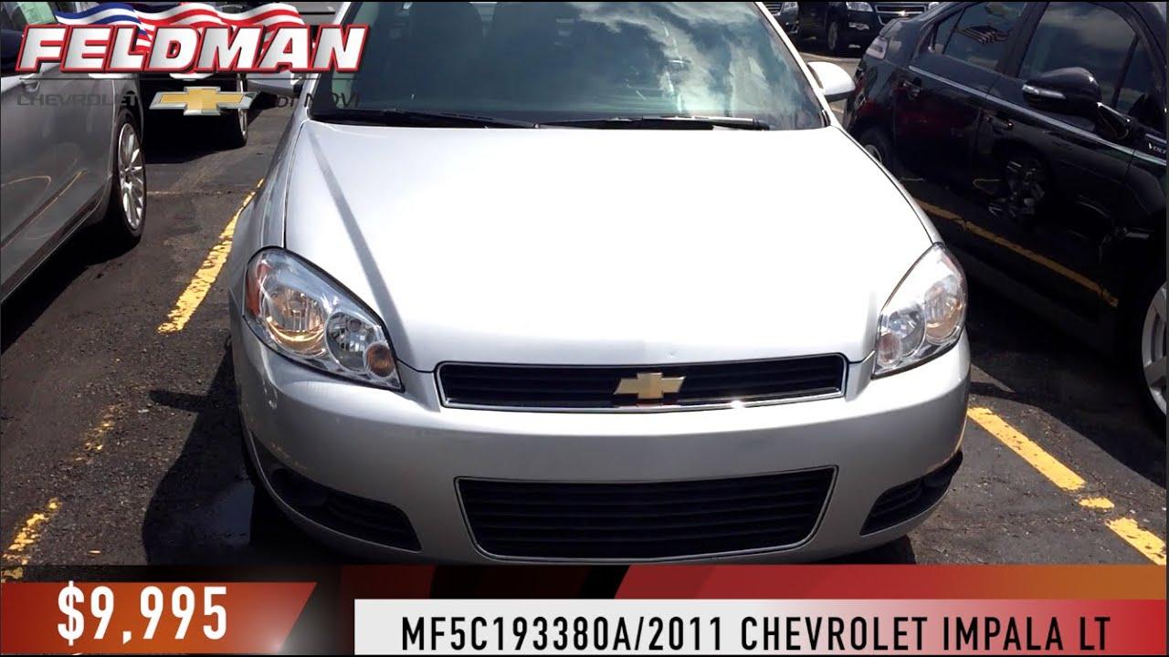 Chevrolet Impala Novi Michigan Mf5c193380a Youtube