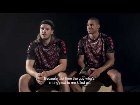 hummel FIREKNIGHT collection: Behind the scenes with Mikkel Hansen & Daniel Narcisse
