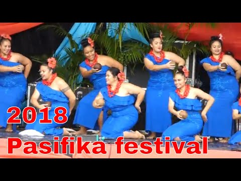 Samoan dance, Pasifika Festival 2018