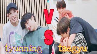 taehyun with hueningkai vs taehyun with beomgyu