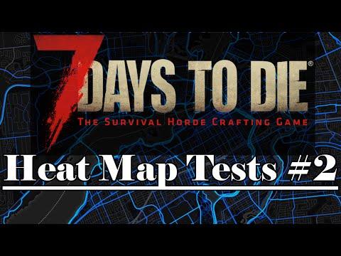 Heat Map Tests #2 (7 Days to Die : Alpha 14.7) - GSBS