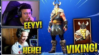 STREAMERS REACT *NEW* MAGNUS VIKING SKIN! - Fortnite Epic & Funny Moments (Fortnite Battle Royale)