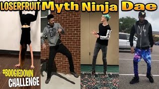 Streamers Doing FORTNITE DANCES IN REAL LIFE! (#Boogiedown Nostalgia)