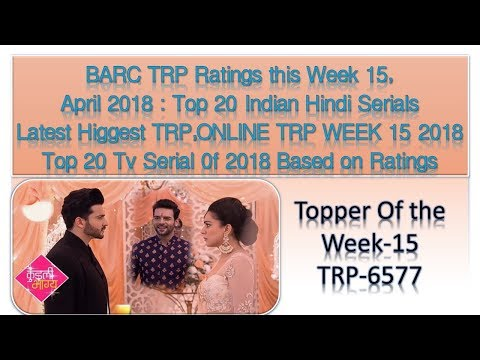 BARC TRP Ratings This Week 15, April 2018  Top 20 Indian Hindi Serials 0Latest Higgest TRP,ONLINE TR