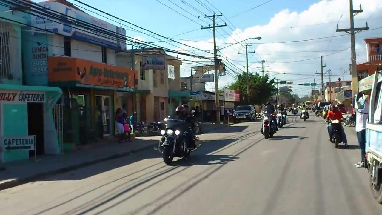 Los Verdugos De Las Harley Davidson De Paseo Por La Republica Dominicana San Pedro De Macoris