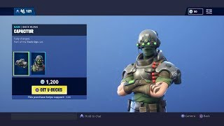 "NEW ""Tech Ops"" SKIN & SET! Fortnite ITEM SHOP [January 24th, 2019] 
