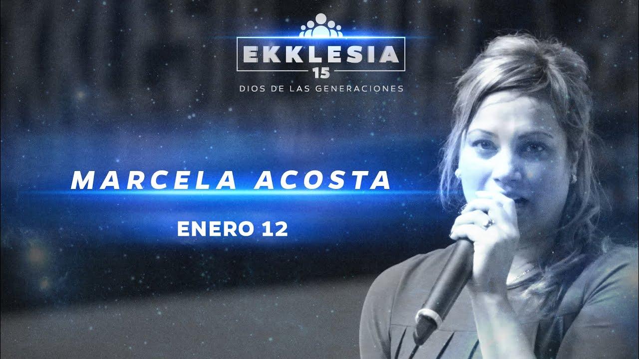 Profeta Marcela Acosta - Generación que conquista | Ekklesia 2015 ...