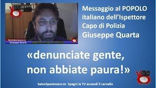 Messaggio al POPOLO italiano dell