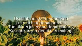 #MINANG Lirik lagu KAWIN TAPASO,Ipank feat Kintani