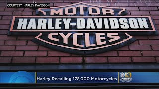 Harley-Davidson To Recall Nearly 178K Bikes To Fix Clutches
