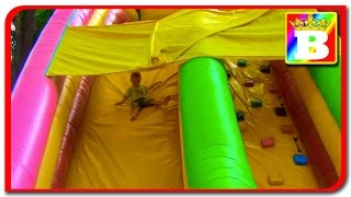 Outdoor Playground Fun for Children   Family Park with Slides on Bogdan's Show