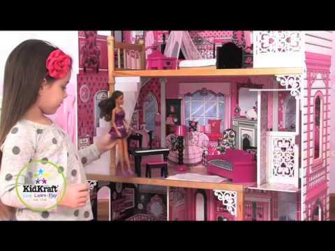 Smyths Toys Amelia Dolls House With Furniture Youtube