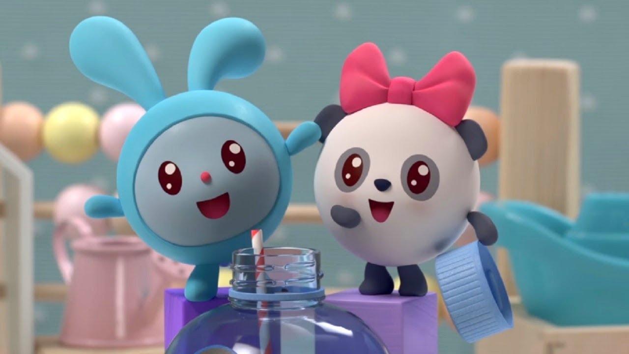 Малышарики - Силачи - серия 121- обучающие мультфильмы для малышей 0-4