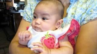 Baby KC with lola grandma Margaret