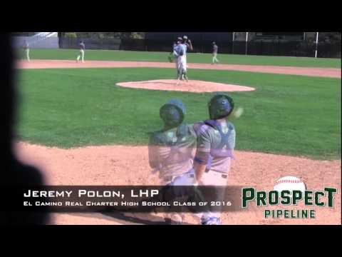 Jeremy Polon Prospect Video, LHP, El Camino Real Charter High School Class of 2016